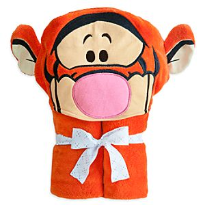 Tigger Hooded Towel for Baby - Personalizable
