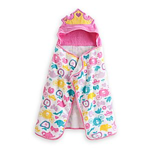 Disney Princess Hooded Towel for Baby - Personalizable