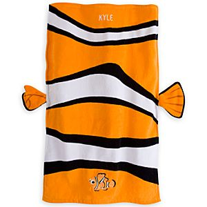 Nemo Swim Towel for Baby - Personalizable