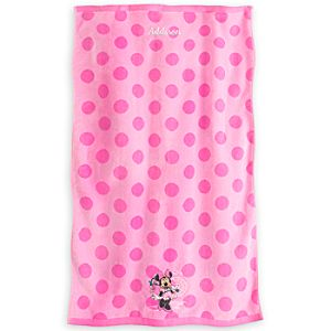 Minnie Mouse Swim Towel for Baby - Personalizable