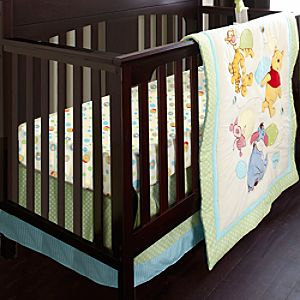 Winnie the Pooh Crib Bedding Set for Baby - Personalizable