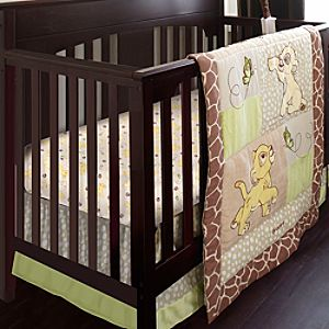 Lion King Crib Bedding Set for Baby - Personalizable