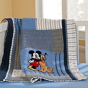 Mickey Mouse Quilt for Baby - Heirloom - Personalizable