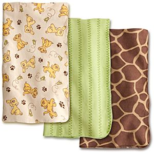 Lion King Receiving Blankets for Baby - 3 Pack