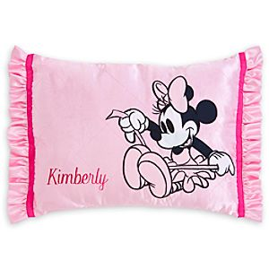 Minnie Mouse Pillow for Baby - Personalizable