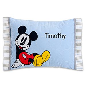 Mickey Mouse Pillow for Baby - Personalizable