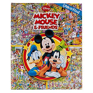 Mickey Mouse and Friends Look and Find Book for Baby