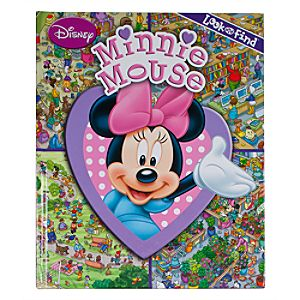 Minnie Mouse Look and Find Book for Baby