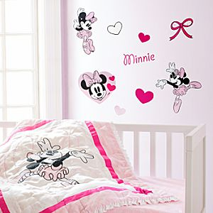 Minnie Mouse Nursery Wall Decals