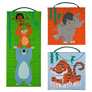 The Jungle Book Canvas Wall Hanging Set