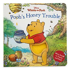Winnie the Pooh Book - Poohs Honey Trouble