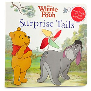 Winnie the Pooh Book - Surprise Tails
