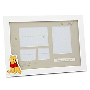 Winnie the Pooh First Year Frame for Baby