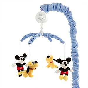 Mickey Mouse and Pluto Musical Mobile for Baby