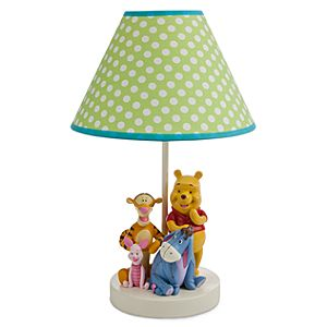 Winnie the Pooh and Pals Lamp for Baby