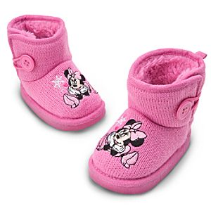 Minnie Mouse Boots for Baby - Winter