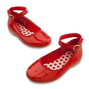 Snow White Ballet Flat Shoes for Baby