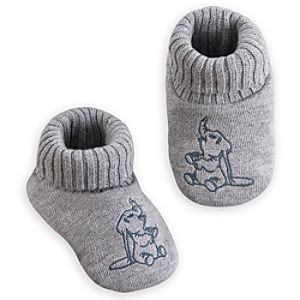 Dumbo Knit Slippers for Baby