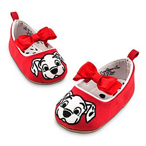 101 Dalmatians Shoes with Bow for Baby
