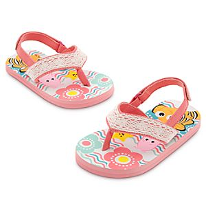 Finding Nemo Flip Flops for Baby - Pink