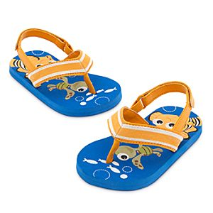 Finding Nemo Flip Flops for Baby - Blue
