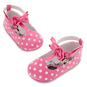 Minnie Mouse Pink Costume Shoes for Baby