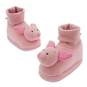 Piglet Costume Shoes for Baby
