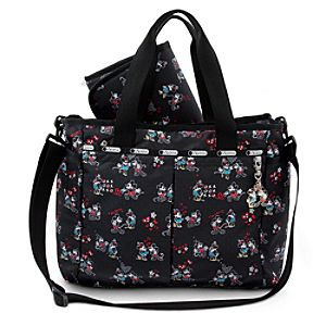 Mickey and Minnie Mouse Ryan Baby Bag by LeSportsac