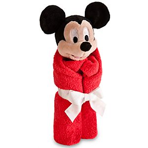 Mickey Mouse Plush Blankie for Baby