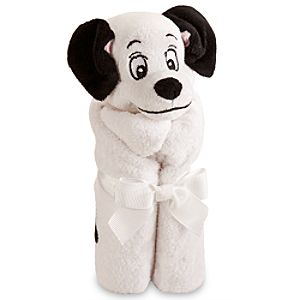 Lucky Pup Plush Blankie for Baby