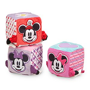 Minnie Mouse Soft Blocks for Baby