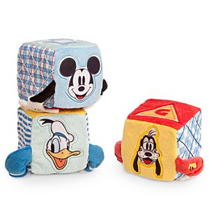 Mickey Mouse and Friends Soft Blocks for Baby