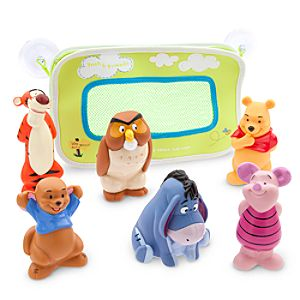 Winnie the Pooh and Pals Bath Toys for Baby