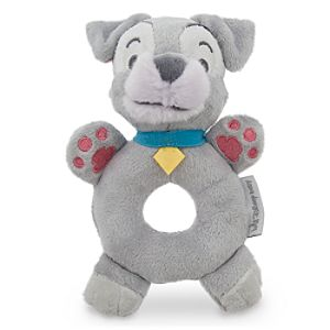 Tramp Plush Rattle for Baby