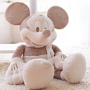 Mickey Mouse Plush for Baby - Large Heirloom 28