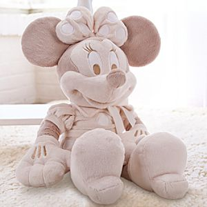 Minnie Mouse Plush for Baby - Large Heirloom 28