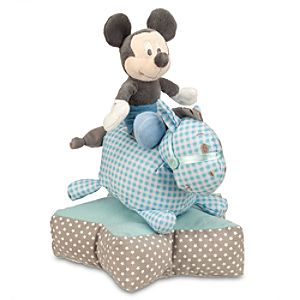 Mickey Mouse on Horse Plush Stacking Toy for Baby