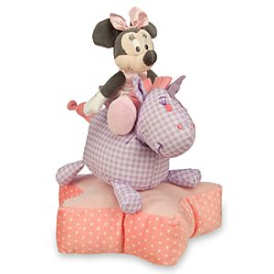 Minnie Mouse on Horse Plush Stacking Toy for Baby