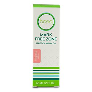Mark Free Zone Stretch Mark Oil by basq - Energizing Citrus