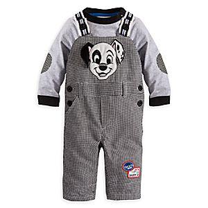 101 Dalmatians Dungaree Set for Baby