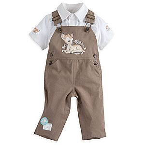 Bambi Dungaree Set for Baby