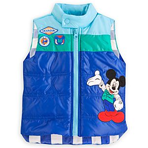 Mickey Mouse Puffy Vest for Baby