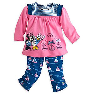 Minnie Mouse and Daisy Knit Set for Baby
