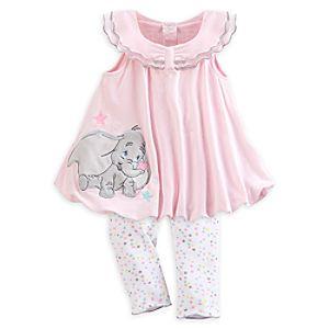 Dumbo Knit Dress Set for Baby