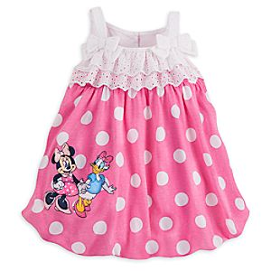 Minnie Mouse and Daisy Duck Knit Romper for Baby