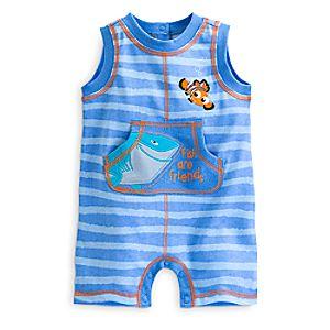 Nemo Sleeveless Romper for Baby