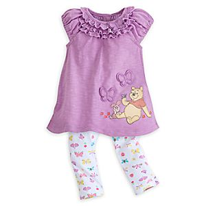 Winnie the Pooh Knit Dress for Baby