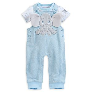 Dumbo Dungaree Set for Baby
