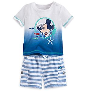 Mickey Mouse Tee and Shorts Set for Baby