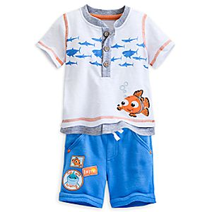 Nemo Tee and Short Set for Baby